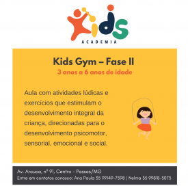 KIDS GYM - FASE II